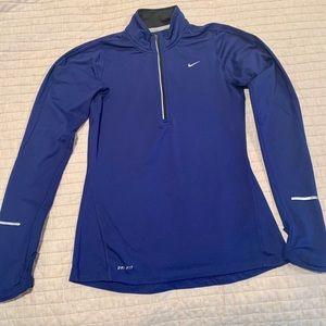 Nike Women's Pro Warm 1/2 Zip Long Sleeve Shirt